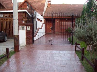Alquiler San Bernardo Casa Duplex 6 P/parque Parrilla Cocher