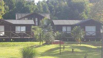 Vendo Complejo De 4 Cabañas De Troncos Casa Laguna Chascomus