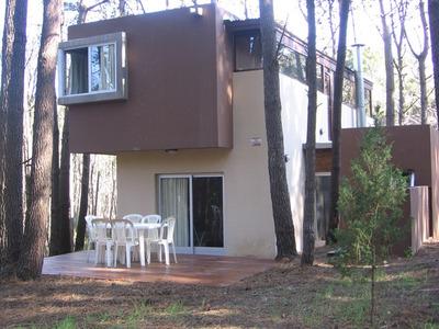 Casa Cabaña 4 Ambientes Bosque Mar Azul Alquiler Temporareo
