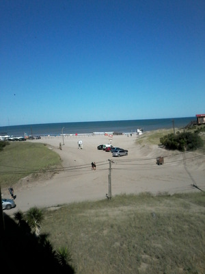 Alquilo Frente A La Playa 1 Ambiente Con Cochera Cubierta