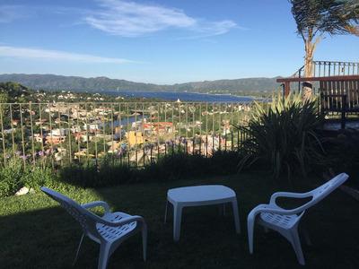 Excelente Propiedad De 400m2 Con Excepcional Vista Al Lago