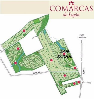 Lote Comarcas De Lujan Barrio San Roque