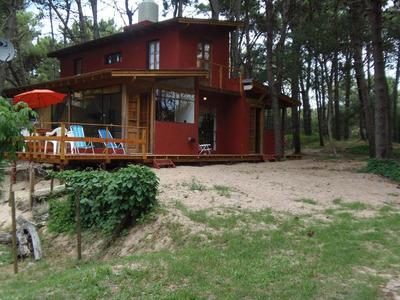 Casa En Bosque Mar Azul Para 4/5 Personas Solo Marzo