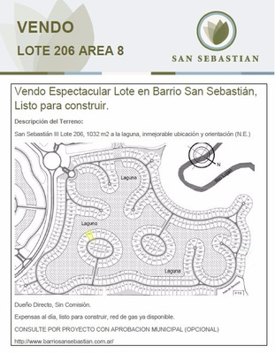 Vendo Espectacular Lote En Barrio San Sebastián,