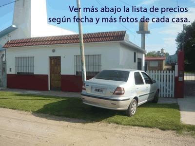 Casa 5 - 8 - 10 Personas Parrilla, Parque, Patio Y Cocheras