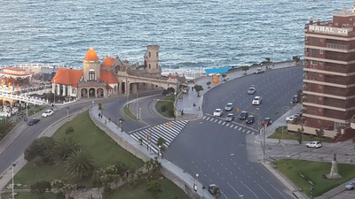 Fantastico 1 Amb.piso 23 Plena Vista Al Mar!!! Comodisimo!!!
