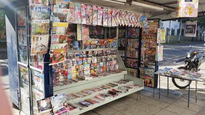 Excelente Parada De Diarios Y Revistas En Perfecta Ubicacion