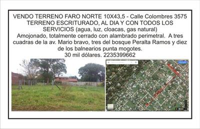 Terreno Y Lote En Venta En Bosques De Peralta Ramos