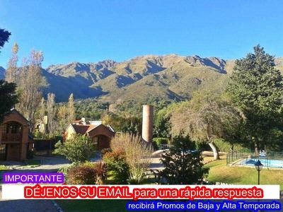 Cabañas En Merlo San Luis. Promos. Alquiler Casas Y Hoteles