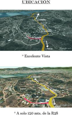 Excelente Lote Con Alpina V. Carlos Paz, Villa Del Lago,