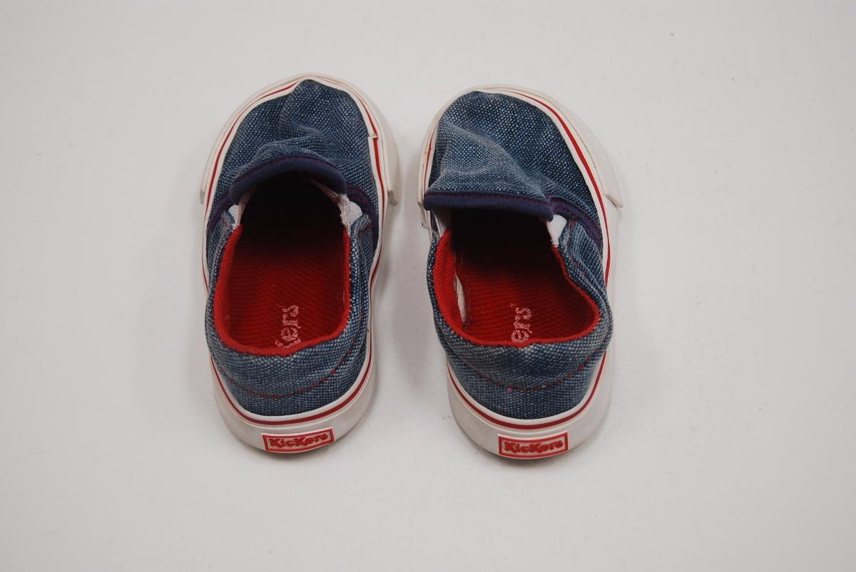 alpargatas kickers para niños talle 9 (usadas)