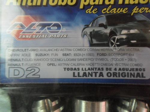antirrrobo renault sandero desp 2007 llanta de  aleacion!!!