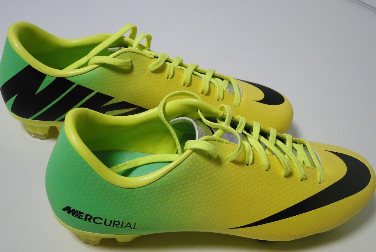 8f914a3b8 botines nike mercurial amarillos