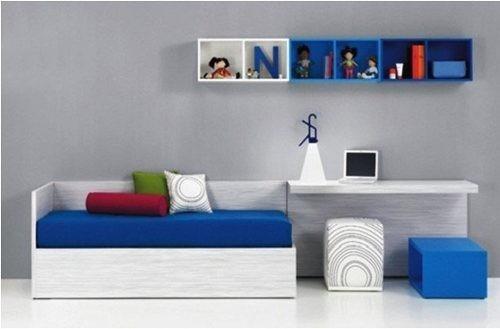 cama muebles dormitorio