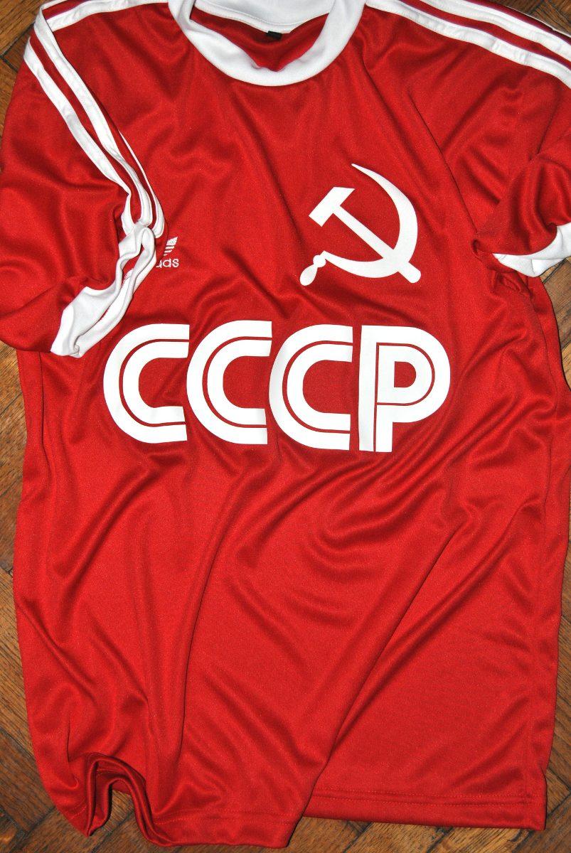 Camiseta Adidas Retro Cccp