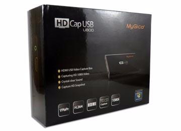 capturadora de video mygica hd cap u800 - hdmi - 1080i