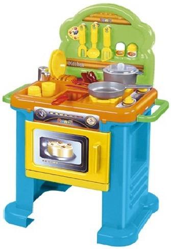 cocinita rondi kitchen con horno de nena - juguete cocina