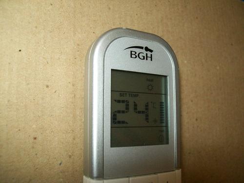 control remoto bgh gems frio solo magnetico original nuevos