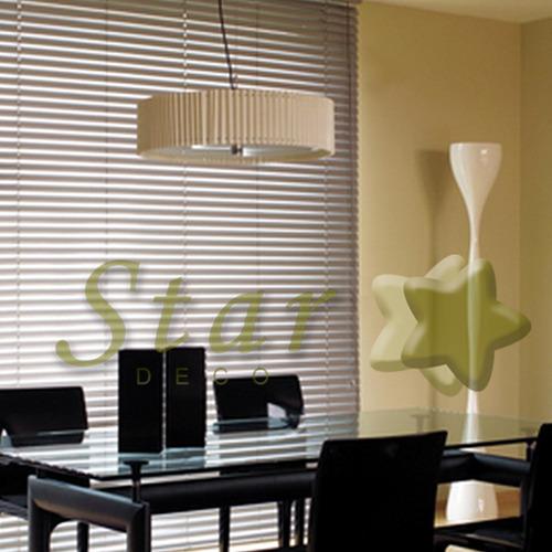 cortinas venecianas de aluminio de 25 mm a medida - iva inc.