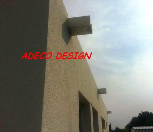 desague de balcon terraza de cemento gargola n° 8 balaustra