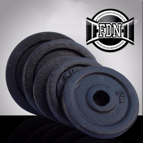discos pesas de hierro macizo - fundicion nacional - x kilo
