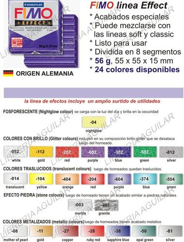 fimo soft classic effect / arcilla polimerica 75 colores