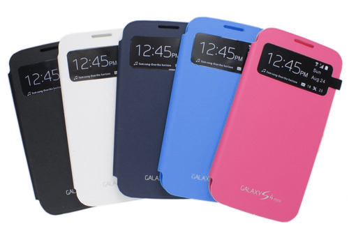 funda flip cover samsung galaxy s4 mini s-view microcentro