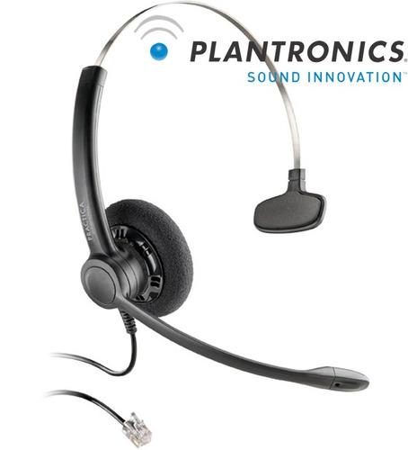 headset plantronics sp11, vincha, cabezal para t110 rj9