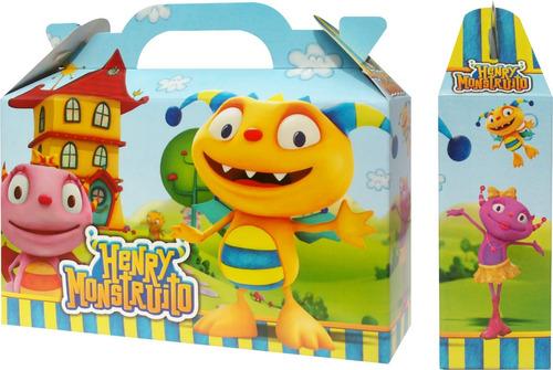 henry monstruito bolsita golosinera souvenir pack x 10