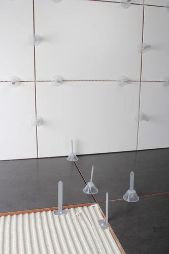 kit rubi tile level sistema rápido de nivelación porcelanato