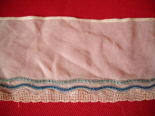 m144 antigua puntilla suiza en tela de gasa y bordado