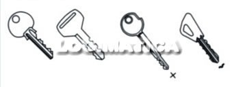máquina copiadora duplicadora llave copiar yale doble paleta