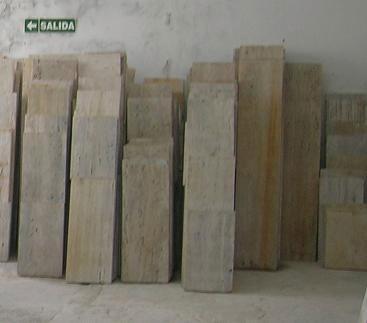 marmol travertino rustico placas de 0,30cm x 1 metro
