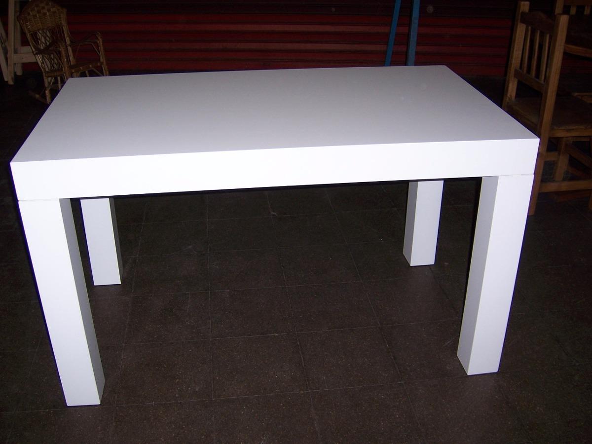 Mesas de madera modernas dise os arquitect nicos for Mesa cuadrada moderna