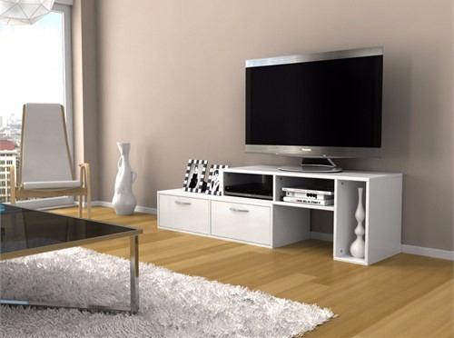 mesa tv lcd led - rack - living - cajon - mueble - modulo