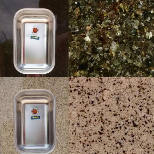mesadas granítica imitación granito/ zócalos.consulte