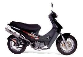 optica delantera corven energy 110 - dos rueda motos