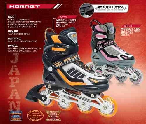 patines talles pequeños