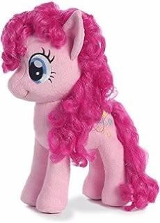 icineclub  Ty  TY41000  My Little Pony  Peluche Pinkie Pie 20 cm
