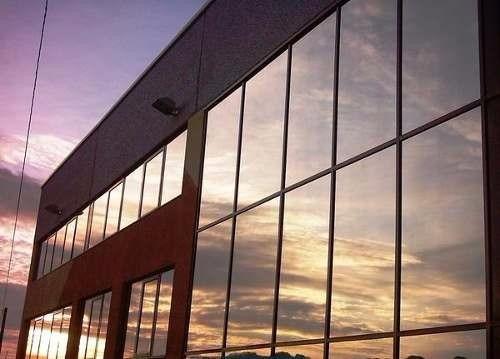 polarizado espejado - film espejado plata vidrios - plateado