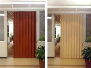 puerta plegadiza pvc / plegable linea h economica d fabrica