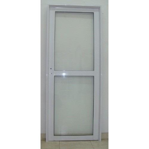Puertas para exterior de aluminio cool gran cantidad de - Puertas de aluminio blanco para exterior ...