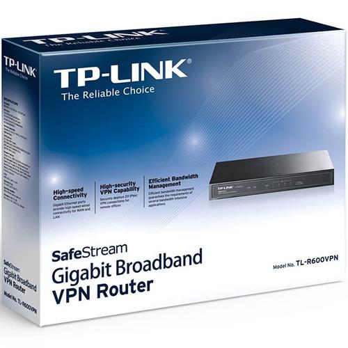 router vpn tp-link tl-r600vpn 1000 mbps gigabit firewall