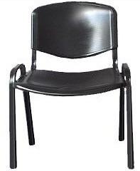 silla fija apilable de plastico directo de fabrica
