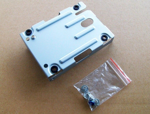 soporte de disco rigido ps3 super slim 12gb mounting bracket