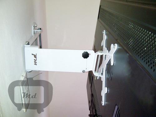 soporte smart led lcd 3d articulado reforzado! 32 40 42 46