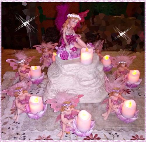 souvenirs...ceremonia de velas - 15 años - con velas led..