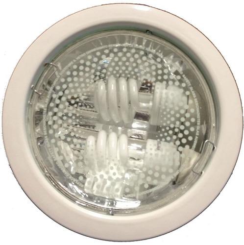 spot de embutir con 2 lamparas bajo consumo 20w philips!!