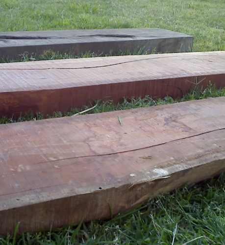tablas de durmientes de quebracho colorado, para caminos!!