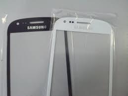 vidrio pantalla glass galaxy s3 s3 mini s4 blanco azul negro
